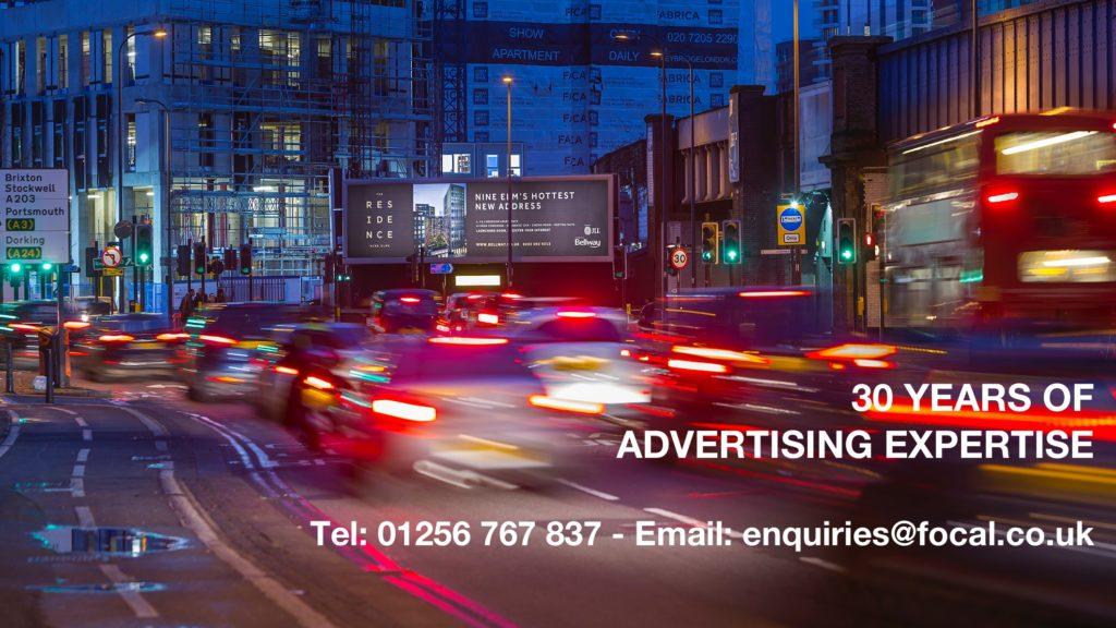 billboard advert local traffic commuters advertising