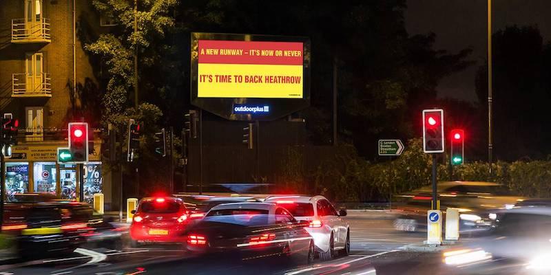 Digital Poster Billboard Advert