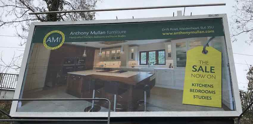 billboard maidenhead anthony mullan